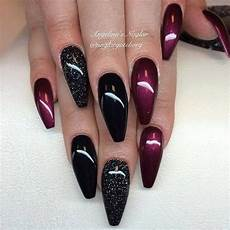 Burgundy And Black Nail Designs The 25 Best Burgundy Nail Designs Ideas On Pinterest
