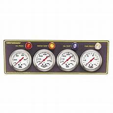 At Oil Temp And Brake Light Speedway 2 5 8 Inch Oil Pressure And Water Temp Gauge Set