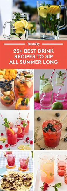 33 best summer drink recipes easy non alcoholic summer