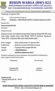 perum permata tangerang blok ca rw 022 undangan halal