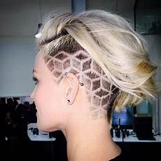 Pics Of Designs In Hair Undercut For Women 60 Chic And Edgy Ideas To Try Out