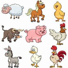 farm animals 2 vector clipart friendlystock