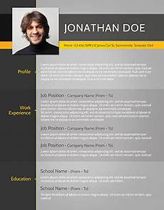 Modern Picture Resume 49 Modern Resume Templates That Get You Hired Fancy Resumes