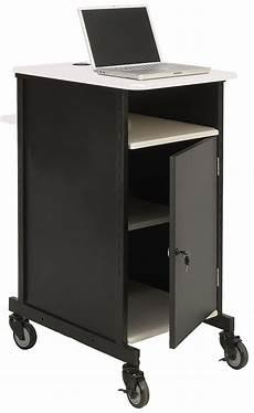 metal computer cart locking cabinet grommets