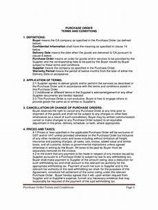 Delivery Terms And Conditions Template Terms And Conditions Template 6 Free Templates In Pdf