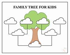 Small Family Tree Template Free Family Tree Template Pdf Excel Word Amp Google Doc