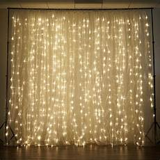 Led Light Curtains Sale 20 Ft X 10 Ft Led Lights Organza Backdrop Curtain Ebay
