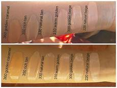 Revlon Colorstay Undertones Chart Revlon Colorstay Foundation Swatches Makeup Tips