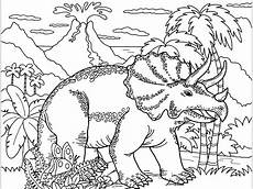 triceraptos dinosaurs coloring pages