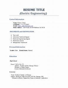 Name Your Resumes Resume Title Profesional Engineering