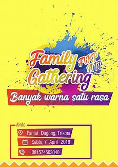 download brosur family gathering cdr svg eps media