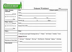 Lawn Care Estimate Forms Lawn Care Service Quote Template Image Quotes At Relatably