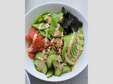 Spicy Smoked Salmon and Avocado Sushi Bowl Recipe   Smoked