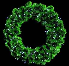 Outdoor Christmas Wreaths With Led Lights 140 White Led Wreath Lights Lights Indoor Outdoor