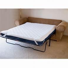 the memory foam sofabed mattress pad hammacher