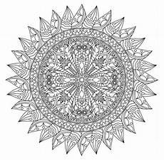 Malvorlagen Mandala Coloring Pages Printable Mandalas Ecoloringpage