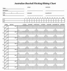 Softball Pitching Chart Template Free 8 Sample Pitching Chart Templates In Pdf Excel