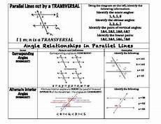 Angle Relationships Parallel Lines Worksheet The Best