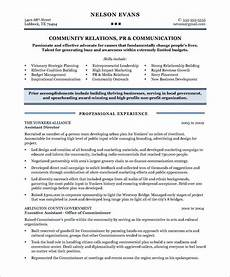 Customer Relationship Executive Resume Community Relations Manager Page1 Free Resume Samples