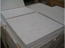 Lycian White Honed Straight Edge 18x18 Limestone