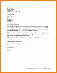 Intro Letter For Resume 7 Introduction Letter Sample For Employment