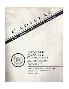 1995 Cadillac Deville Concours Eldorado And Seville