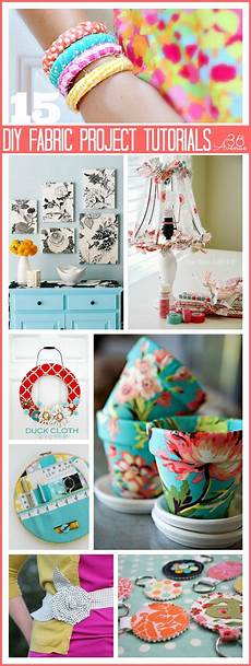 diy projects tutorials diy 36 fabric no sew projects new craft works