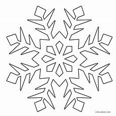 printable snowflake coloring pages for
