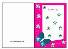 thank you card template with photo to print free butterfly baby shower thank you cards free printable