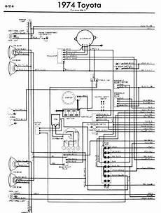 Toyota Corona Mark Ii 1974 Wiring Diagrams Online Manual