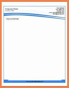 Ms Office Letterhead Template 8 Microsoft Business Letterhead Templates Company