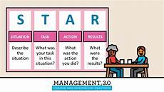 Behavioral Interview Star Management 3 0 Practice Star Behavioral Interview