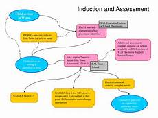 Induction Chart Ppt Eal Additional Needs Flowchart Powerpoint