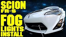 Lambo Lights For Frs Scion Frs Fog Lights Install The Frs Project Youtube