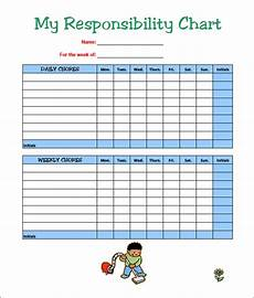 Chore Chart Template Word 7 Kids Chore Chart Templates Free Word Excel Pdf