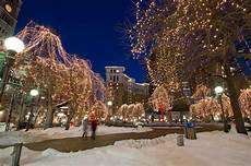 Rice Park Mn Christmas Lights Rice Park Winter Wonderland With The Saint Paul Hotel In