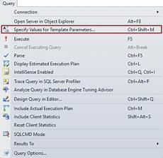 Sql Customer Database Template How To Create And Customize Sql Server Templates