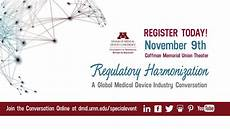 Design Of Medical Devices Conference Umn Dmd Conference Regulatory Harmoinzation Overview Image