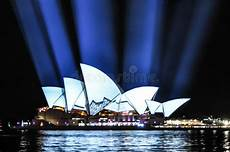 Outdoor Lighting Sydney Sydney Opera House Light Show Editorial Photography