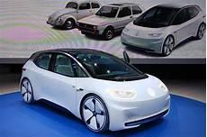 volkswagen id 2019 volkswagen id electric car production date now set