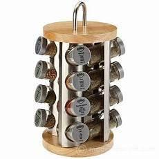 portaspezie legno portaspezie inox legno con 16 spezie kuchenprofi
