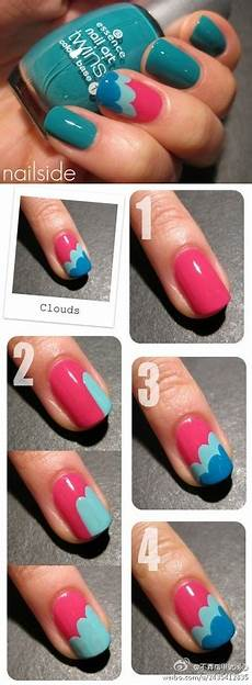 Easy Step By Step Toenail Designs 10 Step By Step Nail Art Designs For Beginners Alizeh S