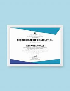 Niit Certificate Format Pdf 32 Completion Certificate Examples Templates In Word