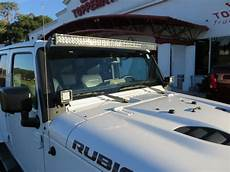 2017 Jeep Wrangler Unlimited Light Bar 2017 Jeep Wrangler Bumper Light Bar Topperking