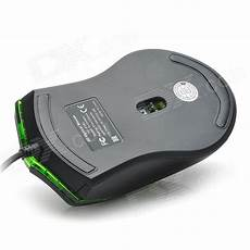 Microsoft Mouse Green Light Usb Wired 800 1600 2400 3200dpi Optical Mouse W