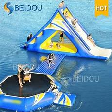 Floating Slide Popular Durable Giant Inflatable Pool Floating Water