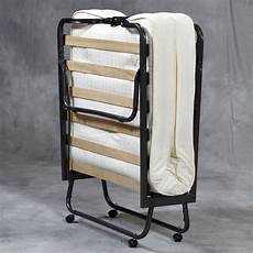 folding bed memory foam mattress roll away guest