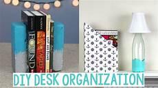 diy desk organization decor back to school crafts
