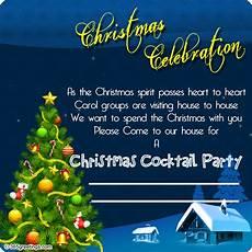 Christmas Carol Invitation Wording Christmas Invitation Template And Wording Ideas