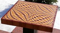 Cutting Board Design Plans Making A Quot Wave Quot 3d End Grain Cutting Board Youtube